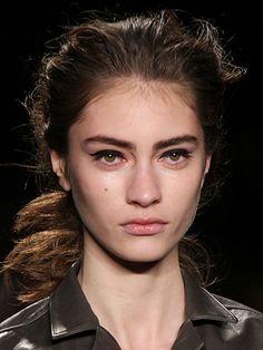 Autumn/Winter 2014 beauty trend report New York Fashion Week - Rag & Bone