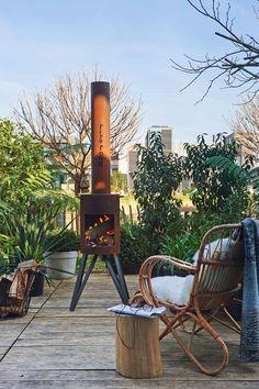 Outdoor woodstove | Photographer: Dennis Brandsma Styling: Fietje Bruijn | vtwonen mei 2014