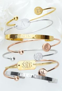 Pretty & personalized. http://www.annabelchaffer.com/categories/Designer-Jewelery/