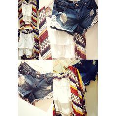 @stradivarius Be lacy, be sexy. #cute #fashion #clothes #outfit #cardigan #kimono #shorts #tanktop #cute #kawaii #colours #happy