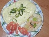 Parní hrnec Kuřecí maso s pórkem a bram. kaší (můj vlastní recept ... Camembert Cheese, Dairy, Food, Essen, Yemek, Meals