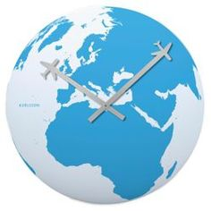 Check out Karlsson Around The World Wall Clock from Tesco direct