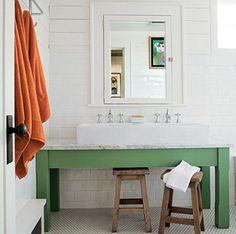 powder room vanity inspiration,  #CLshowhouse