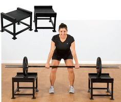 PB Extreme Hang Clean Stands: A great solution for spotting Olympic Bar take-offs and landings