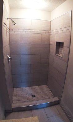 12 x 24 tile shower - Google Search | Bath | Subway tile ...