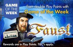 GROSVENOR UK CASINO - Game of the Week - FAUST !! - UK Casino List