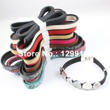 5pcs/lot 10mm Fashion Flat Leather Cord, Leather String for necklace DIY Jewelry Making Accessories 100cm K01813(China (Mainland))