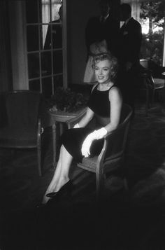 MARILYN MONROE A LONDRES, 1956.