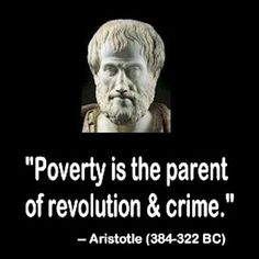 Poverty revolution...