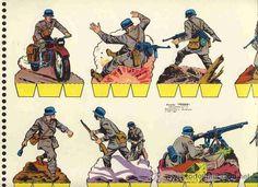 Recortable de soldados: Recortes Peque, Ed.Roma num.15 (Papel ...