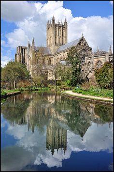 Bishops Palace Gardens, Wells, Somerset