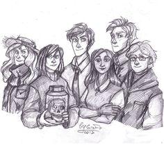 Flo Bones, Lucy Carlyle, Skull in Jar, Antony Lockwood, Holly Munro, Quill Kipps, and George Cubbins
