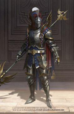ArtStation - knight, namho baek