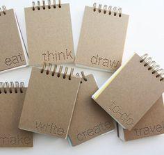 Verb Notebooks