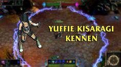Yuffie Kisaragi Kennen LoL Custom Skin ShowCase