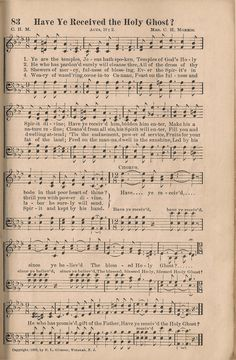 songs of the pentecostal mission