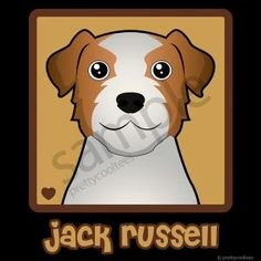 Jack Russell Cartoon T-Shirt