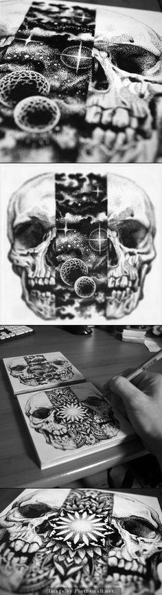 Skull Art By Tony @ http://www.sneakystudios.com/ - created via http://pinthemall.net