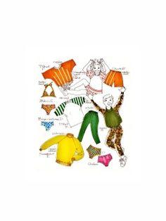 Bevknits Childrens' Raglan Tops, Slacks, Shorts, Swimwear or Underwear, Sewing Pattern Multi Size Vintage Patterns, Sewing Patterns, Slacks, Size 2, Underwear, Snoopy, Shorts, Knitting, Handwriting