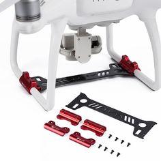 Carbon Fiber Landing Gear Gimbal Camera Protector Board For DJI Phantom 4 Drone #Unbranded