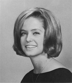 "1964 high school yearbook photo showing Farrah Fawcett when she was voted ""Most Beautiful"" of her junior class at W. Ray High School in Corpus Christi, Texas. Corpus Christi, Santa Monica, Farrah Fawcett, Young Celebrities, Celebs, Celebrities Fashion, Hollywood Celebrities, Famous Hairstyles, Kate Jackson"