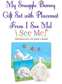 Easter is right around the corner and I have found the perfect thing for any little one! My Snuggle Bunny Book, Bunny and Placemat Gift Set from I See Me! Kids love getting personalized gifts, such as books and other items. Especially if their name is hard to find in stores,...