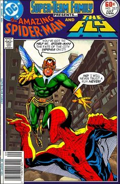 Super-Team Family: The Lost Issues!: Spider-Man and The Fly