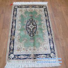 2.5*4ft-76*122cm   New design ! nice color! Handmade silk carpet&rugs.  Do you like it?  www.yilongcarpet.com  alice@yilongcarpet.com  whatsapp&viber: +86 15638927921