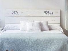 Cómo hacer cabezales de cama con una fijación sencilla