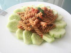 Samo testenine... ampak če jih postaviš malo lepše je čisto nekaj drugega :) #food #pasta