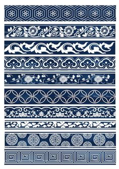 Old lace Chinese patterns More