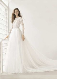 64 Ideas For Wedding Gown Princess Rosa Clara Weeding Dress, Lace Wedding Dress, Long Sleeve Wedding, Princess Wedding Dresses, Modest Wedding Dresses, Bridal Dresses, Wedding Gowns, Lace Dress, Bridesmaid Dresses