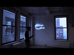 Lampe nuage: elle crée un gros orage dans votre chambre, et c'est la chose la plus cool que vous
