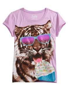 Tiger Graphic Tee   Girls Graphic Tees Clothes   Shop Justice