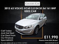 Find used Volvo cars in Warwick the simple way. Come to Country Car today and make sure you get a great deal on your next used car. Used Volvo, Best Car Deals, Volvo Cars, Volvo Xc60, Amazing Cars, Supercar, Car Ins, Used Cars, Cars For Sale