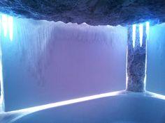Ice cabin by KWS. Nach einem heissen Saunagang eine wunderbare Art sich abzukühlen. Niagara Falls, Spa, Nature, Travel, Naturaleza, Viajes, Destinations, Traveling, Trips