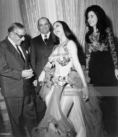 In Tehran for a four day visit that ended May shipping magnate Aristotle Onassis obviously enjoys the charms of a belly dancer at a party given in his honor, . He also chatted with his wife,. Get premium, high resolution news photos at Getty Images Women In Iran, Pahlavi Dynasty, Aristotle Onassis, Teheran, Iranian Women Fashion, Iran Travel, Jacqueline Kennedy Onassis, Tribal Fusion, Belly Dancers
