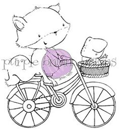 purpleoniondesigns - Stacey Yacula Studio - Free Spirits (Fox and Frog on Bicycle), $7.00 (http://stores.purpleoniondesigns.com/stacey-yacula-studio-free-spirits-fox-and-frog-on-bicycle/)