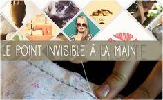Vidéo: comment faire le point invisible à la main? #couture #tuto #DIY