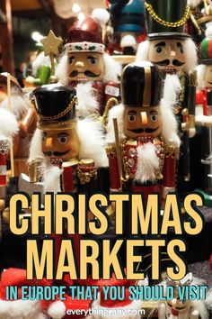 The 10 best Christmas markets in Europe are all set for the holidays. I'm excited to see what these European Christmas markets have in store for me! Best Christmas Markets Europe, Christmas Travel, Christmas Vacation, Family Christmas, Holiday Travel, Winter Travel, Europe Bucket List, Bucket Lists, Europe Travel Guide