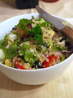 quinoa salade tomaat ei