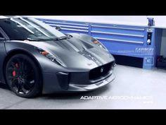 Vídeo del embajador tecnológico de Jaguar, el superdeportivo prototipo c-x75 híbrido