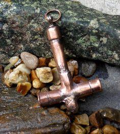Handcrafted Copper Mjolnir Thor's Hammer by IngviMetalCraft