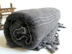 Turkish Towel , PeshtemalTowel Cotton Peshtemall Stonewashed Black Towel on Etsy, $29.50