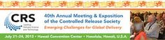 40th Annual Meeting & Exposition of the Controlled Release Society