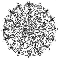 art mandala coloring pages | Celtic mandala coloring pages