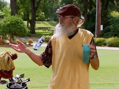 Before you can make an appropriate decision on a golf product, it's essential for you beginners to learn as much as possible related to the sport. Who better than Uncle Si?