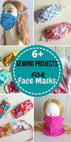6 Easy and Best face Mask Sewing Projects and More - Sew Crafty Me