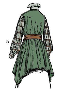 1916 Ladies Russian Blouse