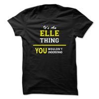 Its An ELLE thing, you wouldnt understand !!